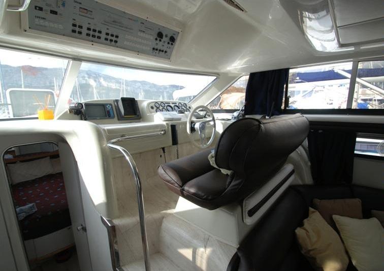 """Laivo """"LT-9445"""" vidus"""